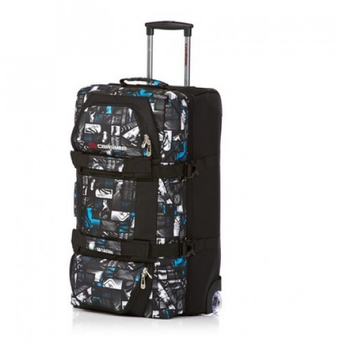 Caribee Centurion Plus 68 Wheeled Travel Bag (blue signature)