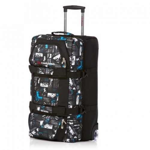 Caribee Centurion Plus 80 Wheeled Luggage (signature print)