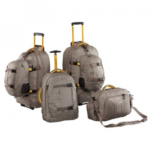 Caribee Fast Track Luggage Set (platinum)