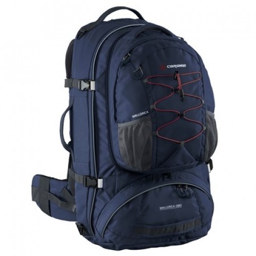 Caribee Mallorca 70 Litre Gap Year Travel Pack (midnight blue)