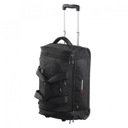 Caribee Scarecrow 55 Wheeled Trolley Gear bag (black)