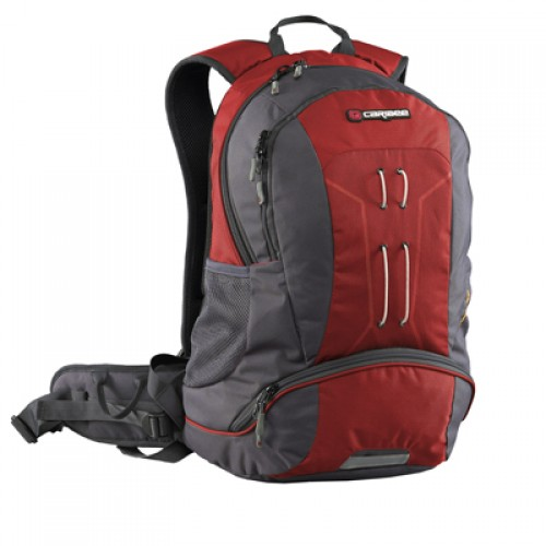 Caribee Trail Hiking Daypack/ Backpack (red)