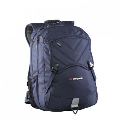 Caribee Yukon School Bag with Laptop Compartment (navy)