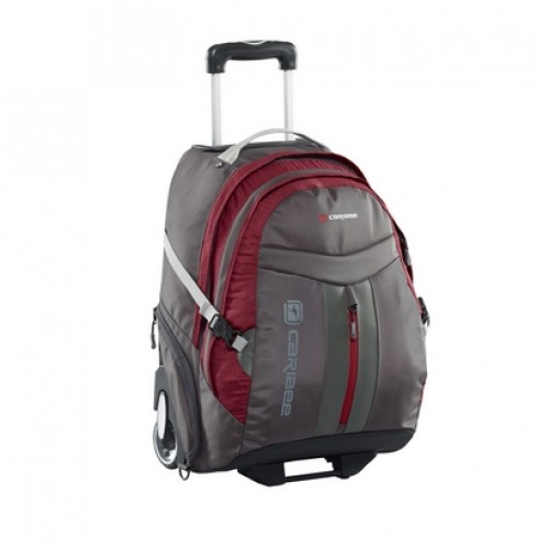 Caribee Time Traveller 19 inch Carry On Hand Luggage (red)