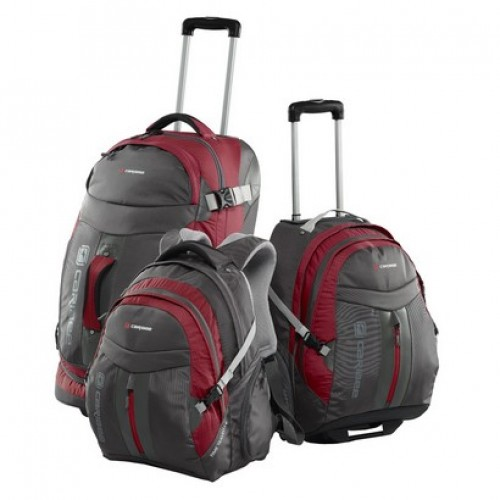 Caribee Time Traveller Luggage Set (red)