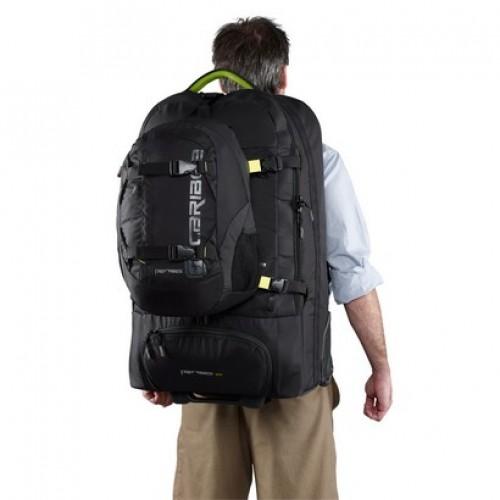 Caribee Fast Track 85 Backpack with Wheels (black)