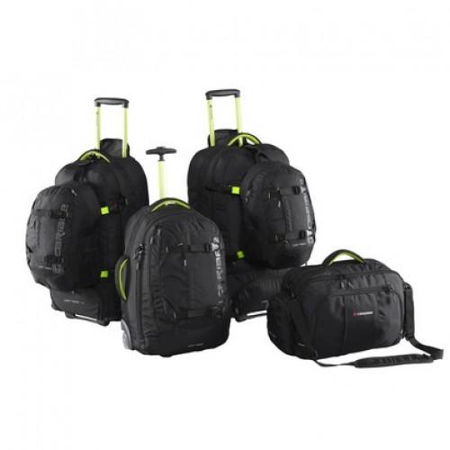 Caribee Fast Track Luggage Set (black)