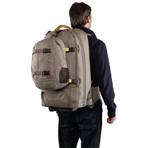 Caribee Fast Track 75 Rucksack with Wheels (platinum)