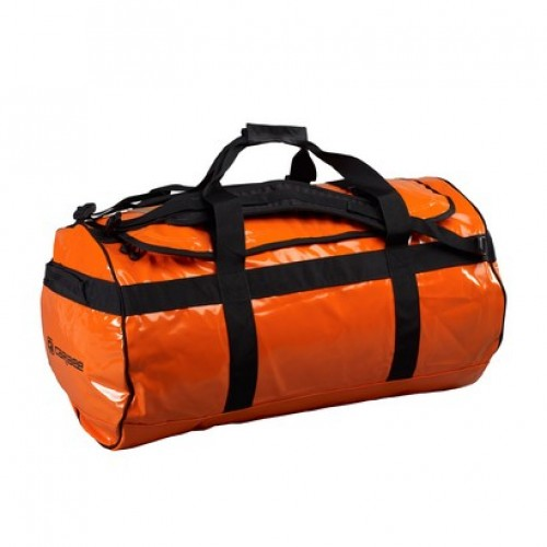Caribee Kokoda 90L Weatherproof Duffel Bag (orange)