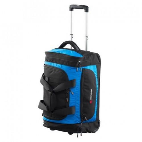 Caribee Scarecrow 55 Wheeled Trolley Gear bag (atomic blue)