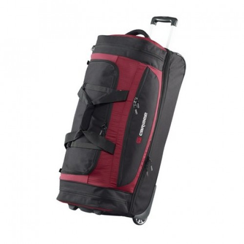 Caribee Scarecrow DX 85 Wheeled Trolley Bag (red)