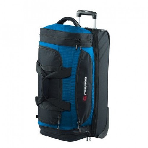 Caribee Scarecrow DX 70 Wheeled Trolley Bag (blue)