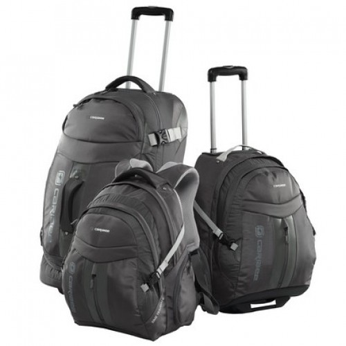 Caribee Time Traveller Luggage Set (black)