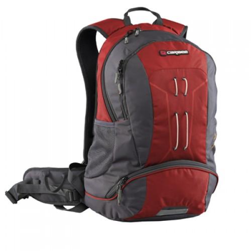 Caribee Trail Hiking Daypack/ Backpack (red)