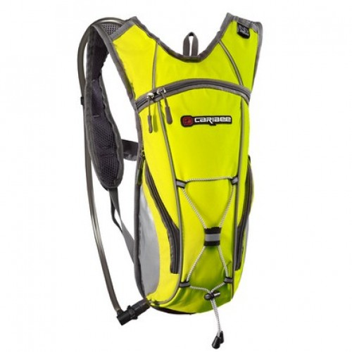 Caribee Hi Visibility Flow Hydration Pack (yellow)